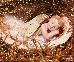Puzzle de Ángel durmiendo