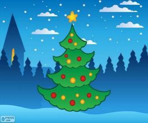 Puzzle de Árbol de Navidad