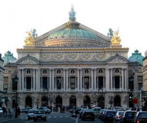 Puzzle de Ópera de París, Francia