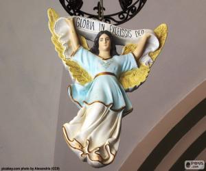 Puzzle de Ángel brazos abiertos