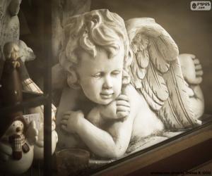 Puzzle de Ángel brazos cruzados
