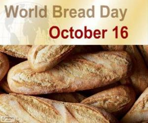 Puzzle de 16 de octubre, Día Mundial del Pan
