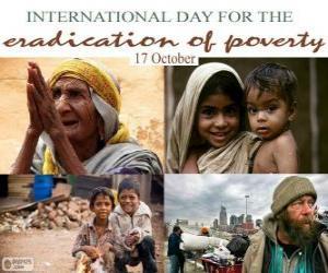 Puzzle de 17 de octubre, Día Internacional para la Erradicación de la Pobreza