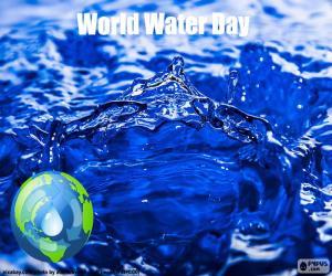 Puzzle de 22 de marzo, Día Mundial del Agua