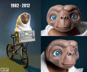 Puzzle de 30 Aniversario de E.T el extraterrestre (1982)