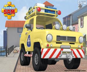 Puzzle de 4x4 de Tom, Sam el bombero