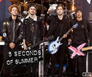 Puzzle de 5 Seconds of Summer, 5SOS