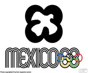 Puzzles De Juegos Olimpicos Mexico 1968 Rompecabezas Para Imprimir