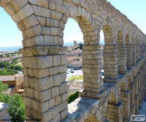 Puzzle de Acueducto de Segovia, España