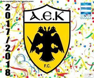 Puzzle de AEK Atenas F.C., Super Lig 2017-18
