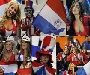 Puzzle de Aficionados de Paraguay, Argentina 2011