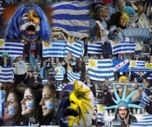 Puzzle de Aficionados de Uruguay, Argentina 2011