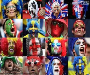 Puzzle de Aficionados en la Euro de 2016