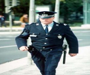 Puzzle de Agente de policía