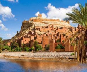 Puzzle de Ait Ben Haddou, Marruecos