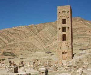 Puzzle de Al-Qal'a de Beni Hammad, Argelia