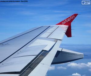 Puzzle de Ala de un avión