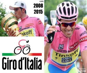 Puzzle de Alberto Contador, Giro 2015