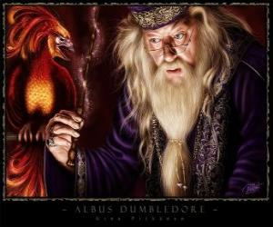 Puzzle de Albus Dumbledore, es el mago más poderoso de toda la saga