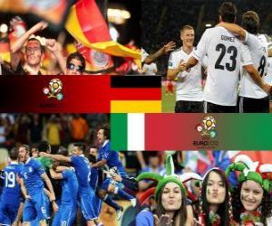 Puzzle de Alemania - Italia, semifinales Euro 2012