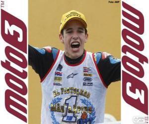 Puzzle de Alex Márquez, Campeón del Mundo 2014 de Moto3