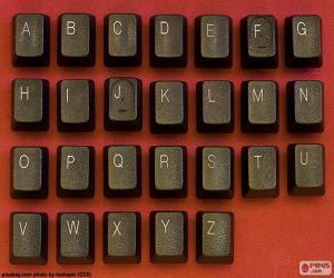 Puzzle de Alfabeto de teclas