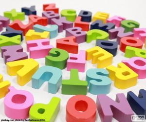 Puzzle de Alfabeto en espiral