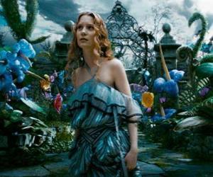 Puzzle de Alicia (Mia Wasikowska) en el país de las maravillas