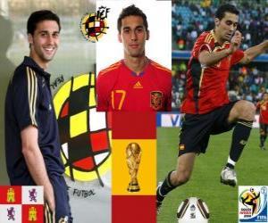 Puzzle de Álvaro Arbeloa (El espartano) defensa Selección Española