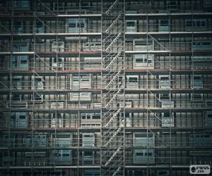 Puzzle de Andamio en fachada