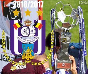 Puzzle de Anderlecht, campeón 2016-2017