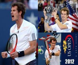 Puzzle de Andy Murray Campeón US Open 2012