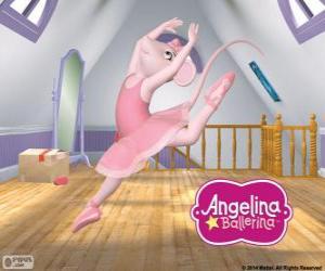 Puzzle de Angelina Ballerina ama la danza