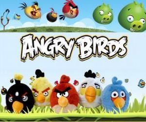 Puzzle de Angry Birds de Rovio. Videojuego