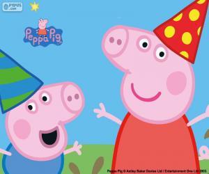 Puzzle de Aniversario de Peppa Pig