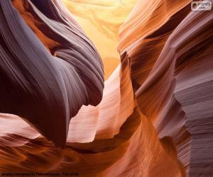 Puzzle de Antelope Canyon, Estados Unidos