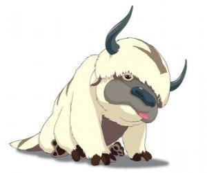 Puzzle de Appa, el bisonte volador de Aang