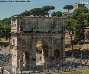 Puzzle de Arco de Constantino, Roma