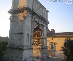 Puzzle de Arco de Tito, Roma