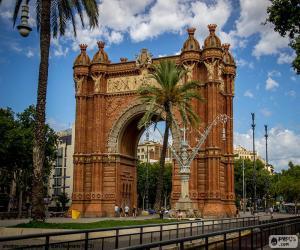 Puzzle de Arco de Triunfo de Barcelona