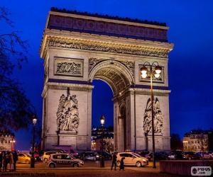 Puzzle de Arco de Triunfo, Paris