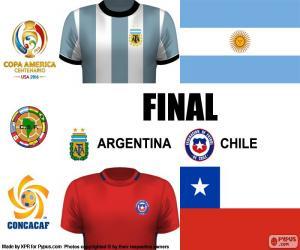 Puzzle de ARG-CHI final C. América 16