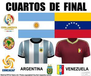 Puzzle de ARG - VEN, Copa América 16
