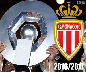 Puzzle de AS Monaco campeón 2016-2017