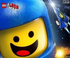Puzzle de Astronauta Benny del filme Lego