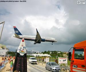 Puzzle de Aterrizando en San Martín