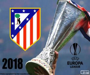 Puzzle de Atlético Madrid, Europa League 2018