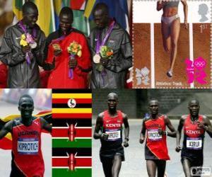 Puzzle de Atletismo maratón mascLDN12