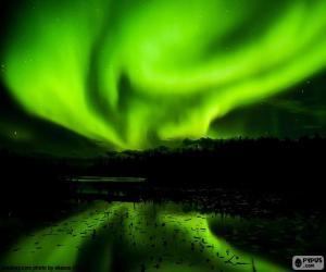 Puzzle de Aurora boreal