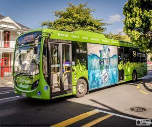 Puzzle de Autobús de Auckland, NZ